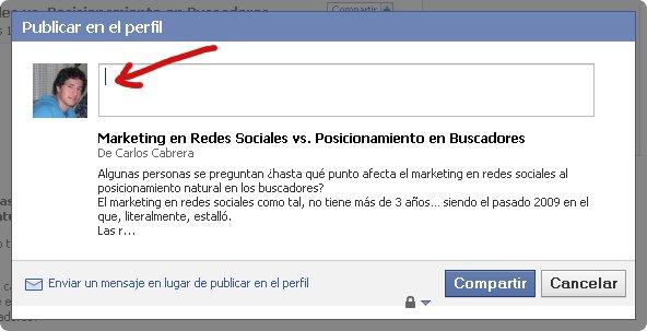 Nota Facebook Marketing